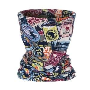 Camp штамп повязка с принтом многофункциональная Бандана Маска для лица шейный трубчатый шарф спортивные шарфы унисекс