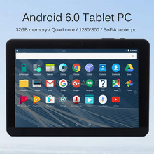 ( Ship from RU ) Android 6.0 Tablette pc 10.1 inch LCD 32GB memory Quad core Mini WIFI tablets pc 8 9 10 inch  1280*800 android