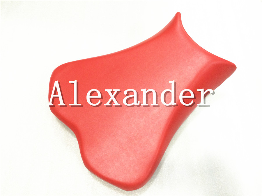 For Kawasaki ZX6R 636 2009 2010 2011 2012 2013 2014 2015 Red Scooter Front Rider Seat Leather Foam Plastic Cover Cushion ZX-6R
