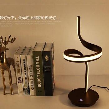 Рождественский Новогодний подарок Золотая современная домашняя Спальня украшение атмосфера настольная лампа освещение для взрослых дете