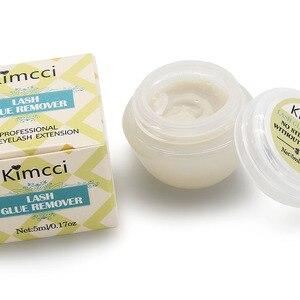 Image 3 - Kimcci profissional seguro chicote cola removedor cílios extensões ferramenta creme 5ml de alta qualidade fragrância cheiro cola removedor