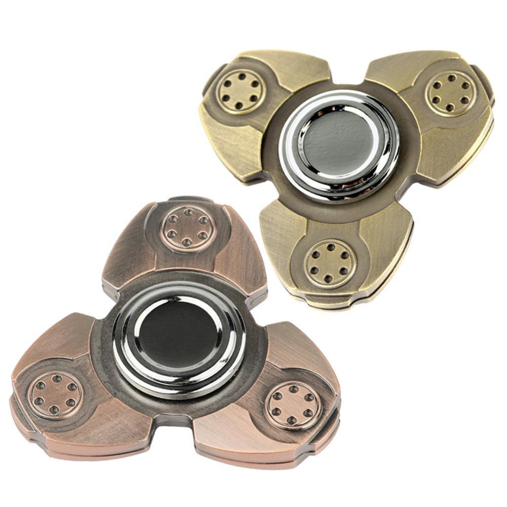 Creative EDC Hand Spinner Metal Rainbow Anti-Anxiety Toy for Kids&Adults Focus Keep Relieves Stress ADHD Fidget Spinner Gifts pudcoco metal boys girls rainbow fidget hand finger spinner focus edc bearing stress toys kids adults