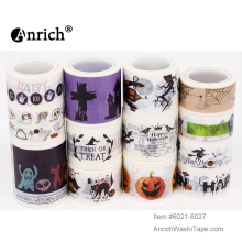 Free Shipping and Coupon washi tape,Anrich washi tape 16 patterns of Halloween series,#6012-6027