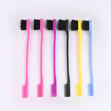 Get more info on the 3pcs/lot Double Sided Edge Control Hair Comb Hair Styling Hair Brush Random Color