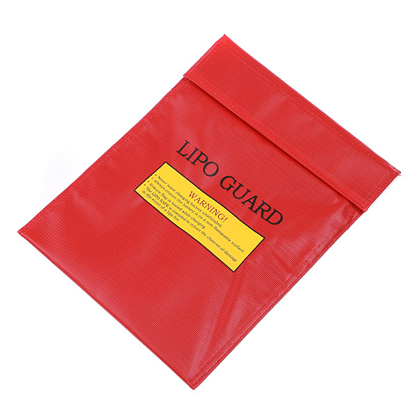 1pcs High Quality RC LiPo Battery Safety Bag Safe Guard Charge Sack 18x23cm 30x23cm Red Black Silver for choose Dropship