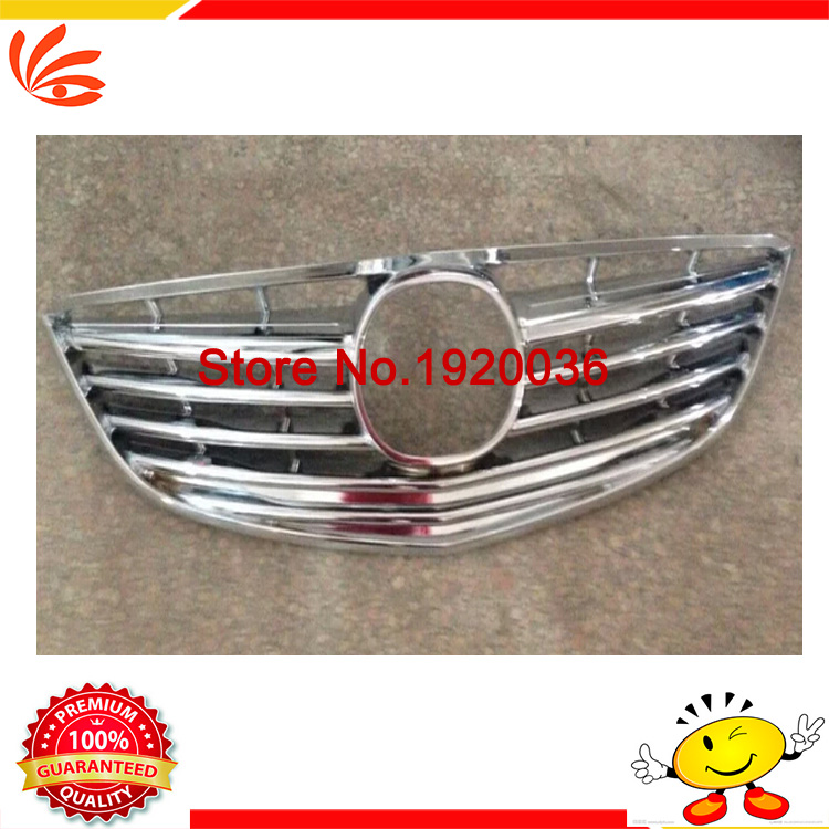Car styling ABS Chrome Car Front Gille Trim Auto Grille Decoration Cover Trims for MAZDA 6 ATENZA 2014 car accessories