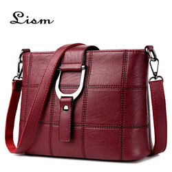 Women's luxury Messenger bag designer ladies bag 2018 casual shoulder bag wild small square bag ladies new series
