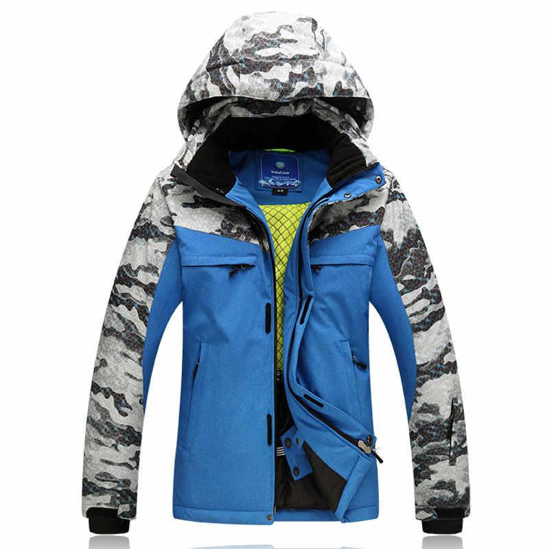 Freies Verschiffen Neue Snowboard Jacke für Männer Männlichen Wasserdicht Winddicht Atmungsaktiv Skifahren Jacke Winter Baumwolle Warme Jacke