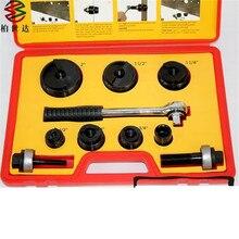 CC-60 Manual Herramienta de Perforado Aberturas gama 22.5mm-61.5mm 6 T Presión espesor de la Chapa de 2mm o menos