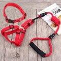 Adjustable Nylon Chihuahua harnais chien Hond Dog Pets Lead harness leash small large Huskie dog collars harness sets long leash