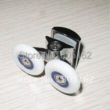 Валик для душа, стеклянный дверной ролик, ролик для ванны душа, колеса, шкив(XYHL-054