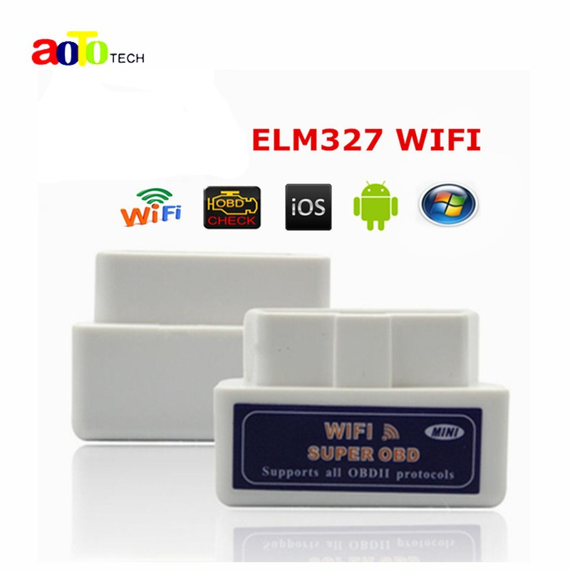 top super mini wifi elm327 elm 327 wifi v1 5 obd 2 ii car. Black Bedroom Furniture Sets. Home Design Ideas