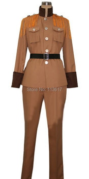 APH Axis Powers Hetalia Latvia Cosplay Costume army high school New outfit uniform