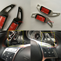 For Mercedes CLA Class C117 2014 2015 Benz Car Steering Wheel Shifters Paddle Switch Trim Cover