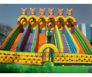 large inflatable slide  bouncer Inflatable slide  0.55mm pvc material outdoor inflatable slides for sales best selling ce certificate pvc material inflatable boat for sale