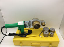 Envío gratis Constant electrónico de la temperatura PPR soldadura máquina, PVC máquina de soldadura AC 220 V 800 w, 20 – 63 mm de extremo a extremo de soldadura tubos