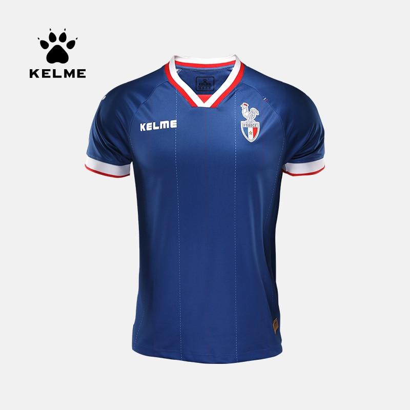 KELME France Home Away Soccer Cultural Shirt 3781001