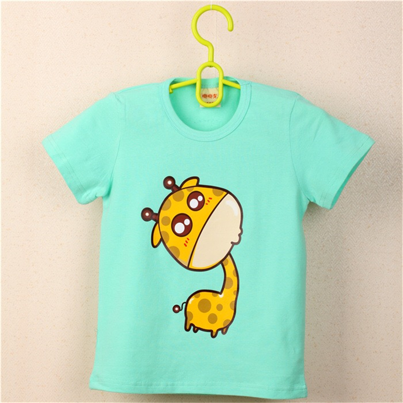 FHADST-2017-Summer-New-Baby-Boys-White-Cool-T-shirt-Short-Sleeve-100-Cotton-Casual-tees-Kids-Clothes-Character-Cute-monkey-tees-3