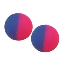 2 Pcs Bouncy Ball Luminous Double Color Matte Bouncing Glow Intelligent Unisex Kids Children Outdoor Healthy Sports Toy 1