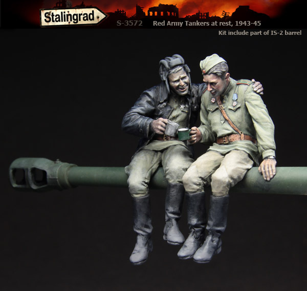1:35 Rode leger tankers in rust, 1943-45