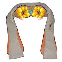 Amkee Massager Electric Shiatsu Back Neck Shoulder Body Massager Infrared 4D Heated Kneading Massage Health Care