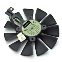 T129215SU 87MM 4 Pin Cooler Fan For ASUS Strix R9 390 390X GTX 980Ti 960G 970
