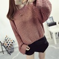 H.SA Spring Sweater Women 2017 Knitted Sweaters and Pullovers Autumn Winter Loose Knitwear O Neck Long Sleeve Sweter mujer