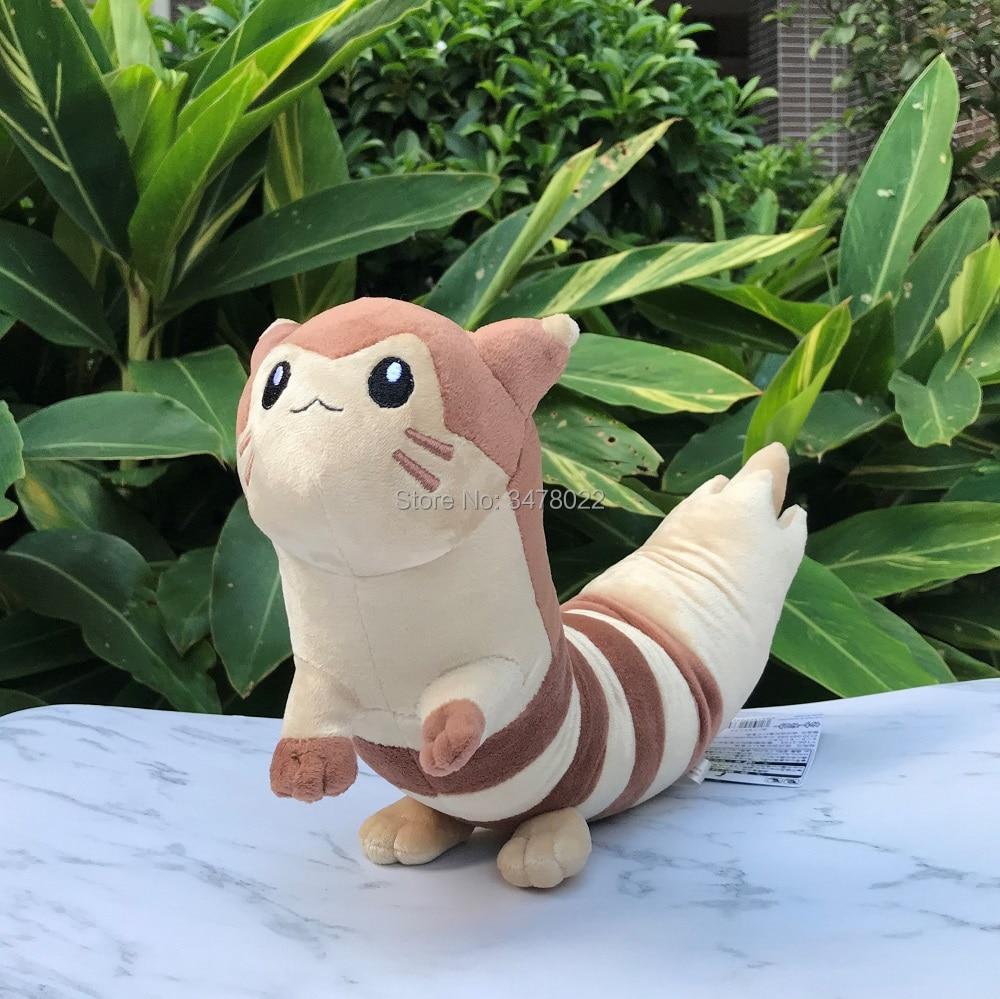 Anime Furret Plush Toy Cute Ootachi Sentret Evolution Stuffed Animals Soft Doll Length 17