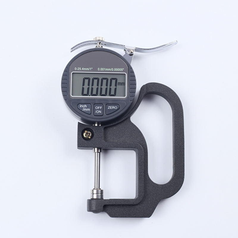 0-25mm Digital Thickness Gauge LCD Micrometer Thickness Meter Micrometer Width Measuring Tools Data Output Accuracy 0.001mm