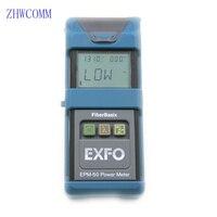Zhwcomm يده الألياف اختبار كفاءة-50 ~ 26dBm EPM-50 مصدر الضوء ضوء الألياف البصرية السلطة متر البصرية السلطة متر