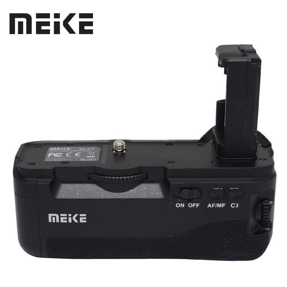 Mcoplus BG-A7II Batterie Vertical Holder Grip pour Sony A7II A7S2 A7M2 A7R2 A7R II comme VG-C2EM Caméra Meike MK-A7II