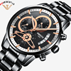 Luxury Watches Men High Quality Watches Men Luxury Brand Wristwatches Fashionable Erkek Kol Saati Metal Stainless