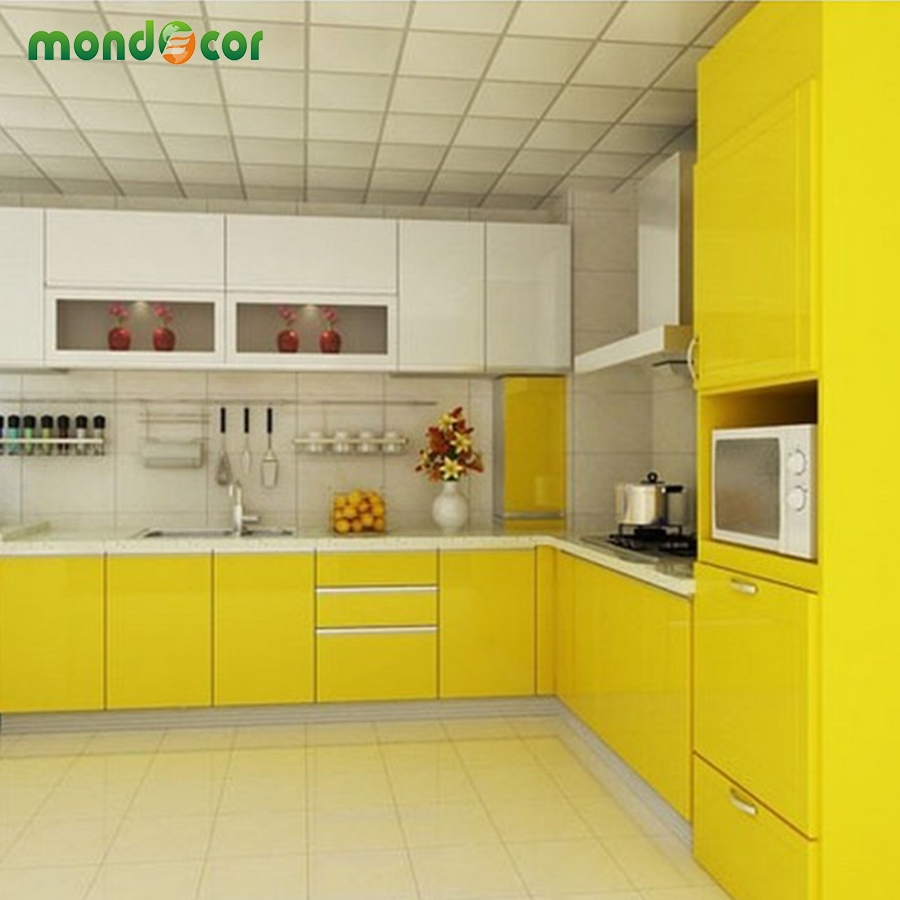 5M DIY Vinyl Wall Stickers Furniture PVC Contact Paper Self Adhesive  Wallpaper For Kitchen Cabinet Door Waterproof Wall Decals In Wall Stickers  From Home ...