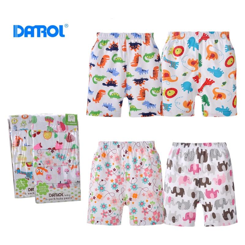 DANORL Nueva llegada bebés niños niñas 5pcs / lot PP pantalones - Ropa de bebé