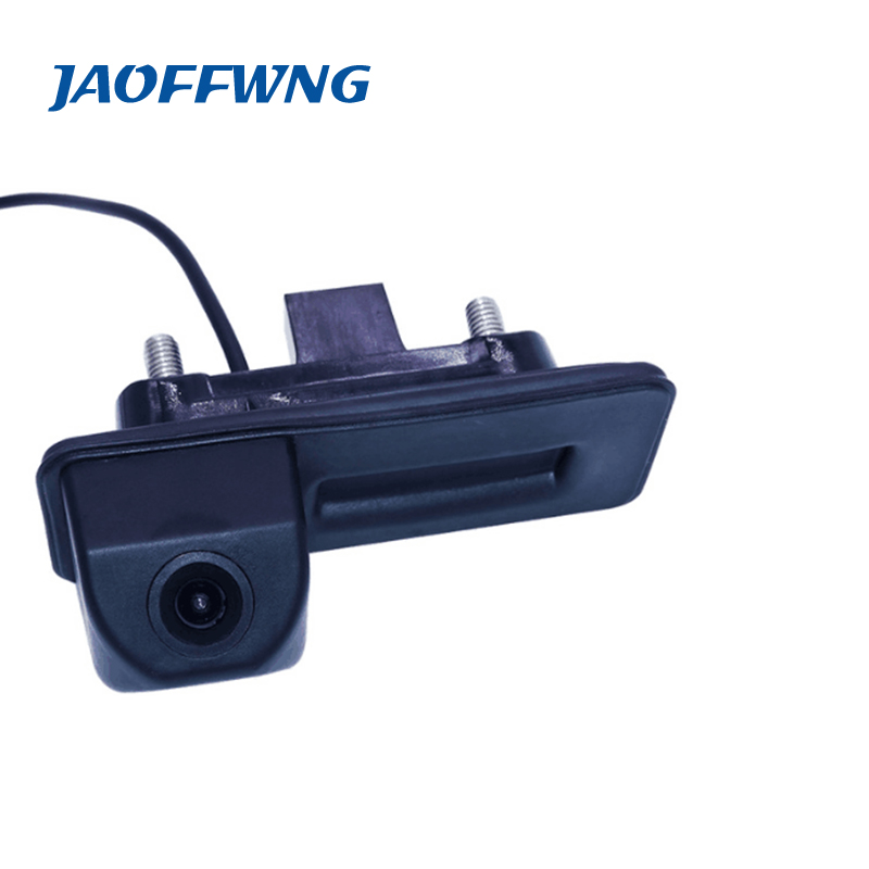 Auto trunk handle camera car parking camera 170 wide angle suitable for Skoda Roomster Fabia Octavia Yeti superb for Audi A1 bigbigroad car trunk handle rear view backup reverse camera for skoda roomster fabia octavia 5e mk2 yeti superb audi a1