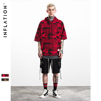 INFLATION 2016 New Arrival Oversize Soild Men S Cloak Hooded Male Streetwear Sweatshirts Hip Hop Autumn