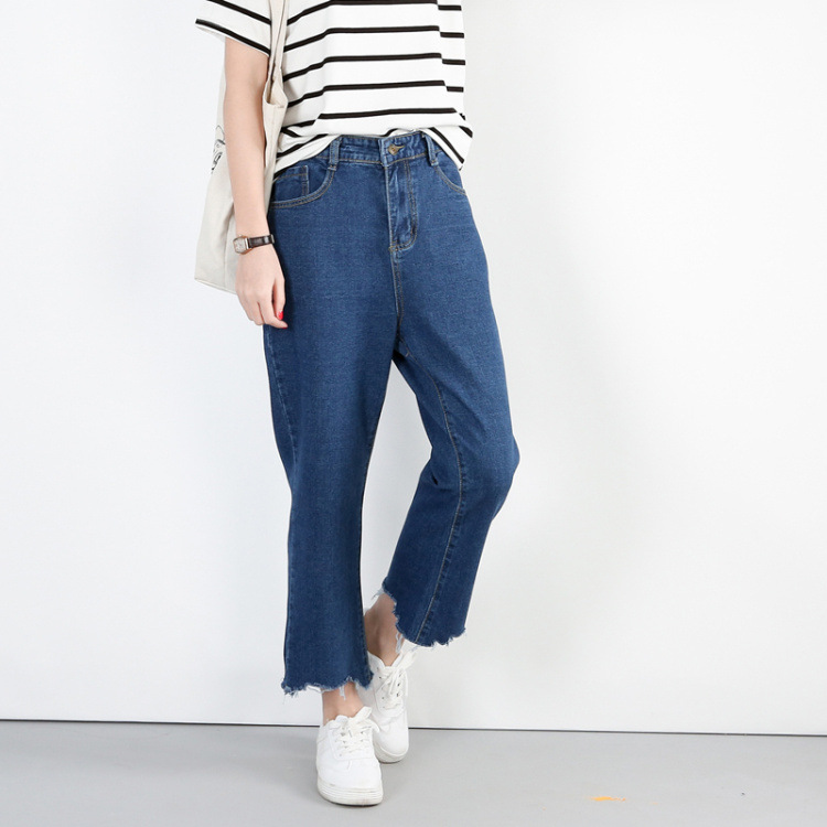 Lguc.H Large Size   Jeans   Women High Waist Mom   Jeans   Plus Size Torn Ripped   Jeans   Woman Big Size Ankle   Jean   Female 4xl 5xl Street