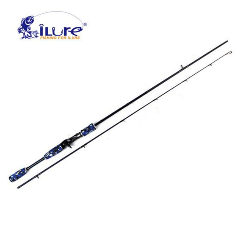 iLure Bass 1.98m/2.1m ML Power Spinning/Casting Fishing Rod 99% Carbon Fast Action Spinning Rod Canne A Peche Fishing Tackle