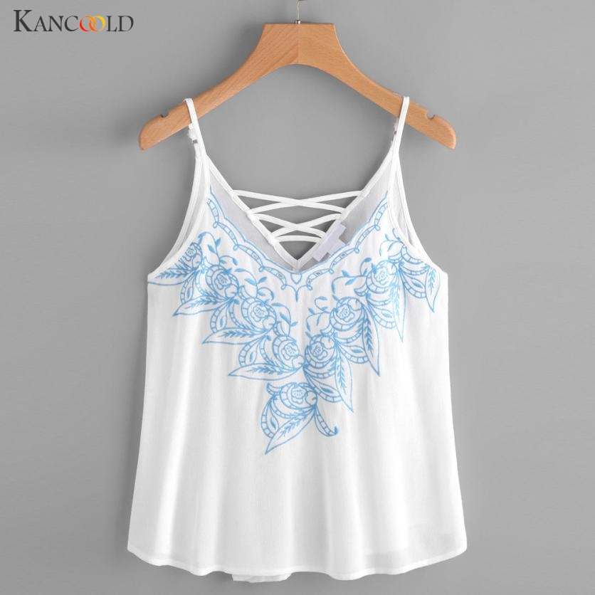 0f69bdc3d603 Detail Feedback Questions about Fashion Women s Vest Shirt Comfortable  Camis Embroidered Tops Girls Summer Causal Blouse Sleeveless V Collar Tank  Maay26 on ...