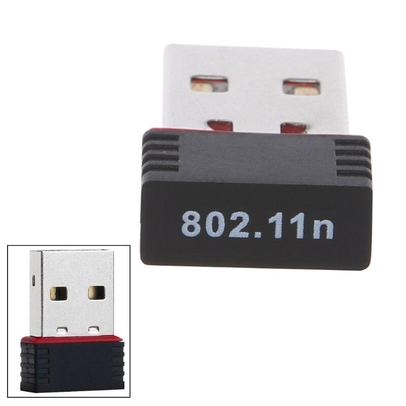 Humor 1 Stück 150 Mbps Usb 2.0 Wifi Wireless Adapter Netzwerk Lan Karte 802,11 Ngb Ralink Mt7601 Hohe Geschwindigkeit Computer & Büro