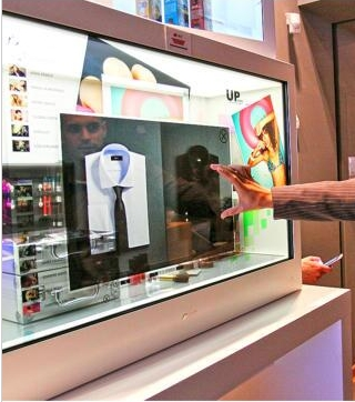 19 22 26 32 42 Inch TFT Full Hd 1080pTransparent LCD Touch Interactive Digital PC Built In All In One 3g 4g Wifi Ad Kiosk
