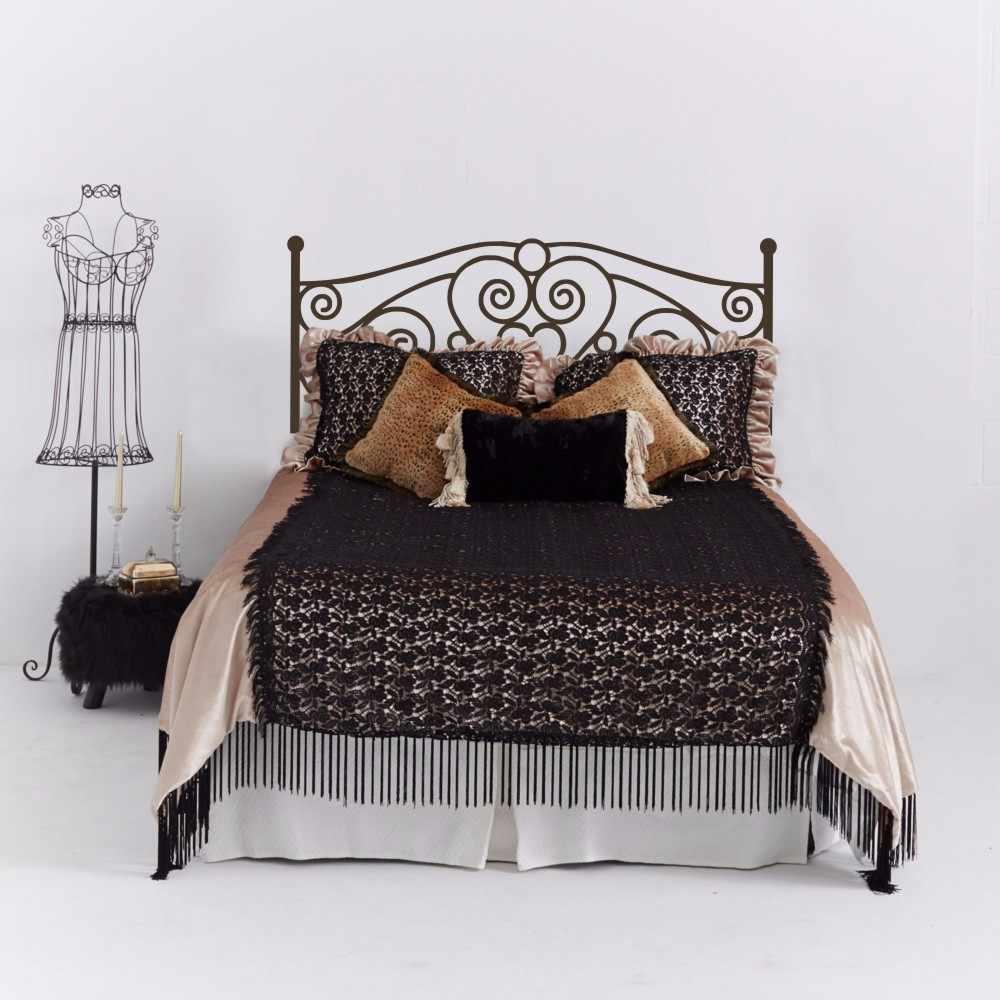 Морден потертый шик декорация для спинки кровати виниловая художественная наклейка кровать настенное украшение для кровати изголовье кровати обои для дома
