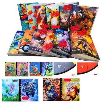 2019 New 22colors 240pcs holder album  Pokemones   toys for Novelty gift  Cards Book Album Book Top loaded List for children action figure pokemon
