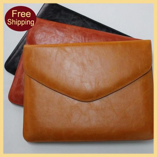 For iPad 2 Leahter,High Quality Genuine Leather Case For iPad 2 Restore Ancient Ways Envelop Style Fast Free Shipping