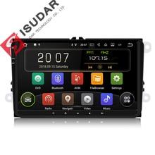 Isudar Voiture lecteur multimédia 1 Din Android 8.1.0 DVD Automotivo Pour VW/Volkswagen/POLO/PASSAT/Golf/ skoda/Octavia/Siège radio gps