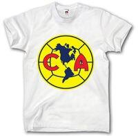 Клуб Америка de Мексика футболка S-XXL Camiseta Futbol soccerer футболист клуба хлопковая футболка для Для мужчин принт