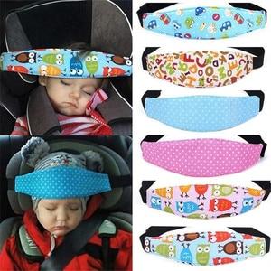 Image 2 - Bande de fixation bébé enfant tête monture de support ceinture de couchage siège de voiture sommeil sieste support ceinture bébé poussette sécurité porte siège ceinture