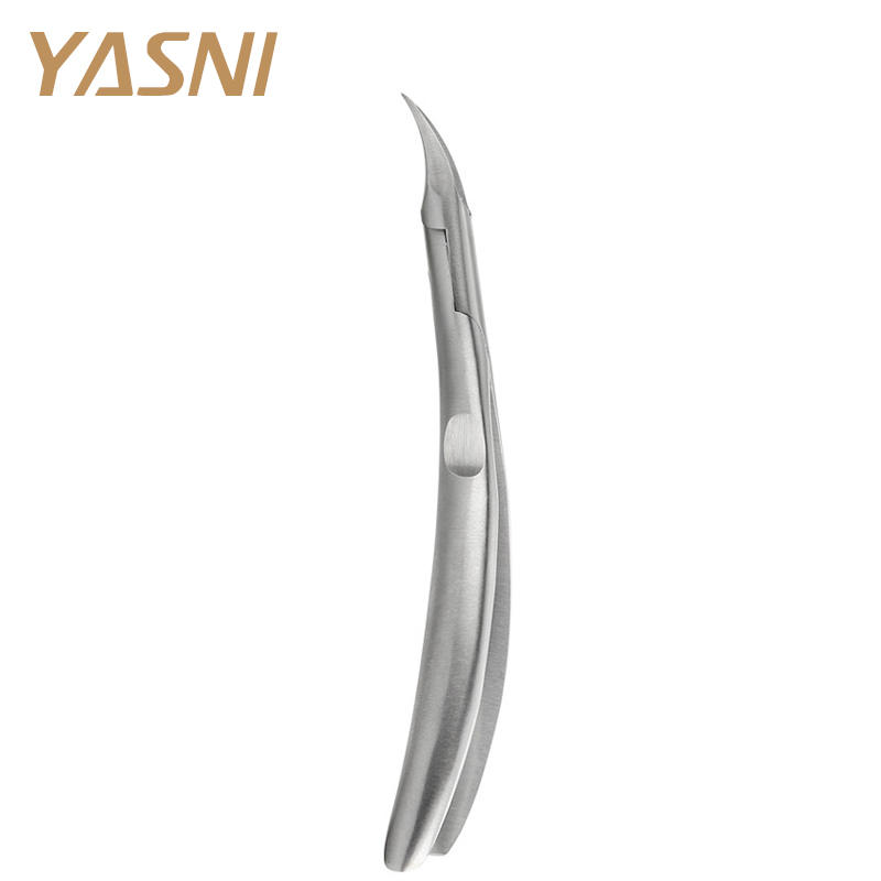 Silver Foot Cuticle Scissors Pliers Manicure Remover Tool Feet Care Toe Nail Clippers Trimmer Cutters Paronychia Nippers NT81