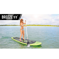 Aqua Marina Breeze 9'9 BT 18BRP inflatable surfboard inflatable surf board stand up paddle kayak inflatable fishing boat
