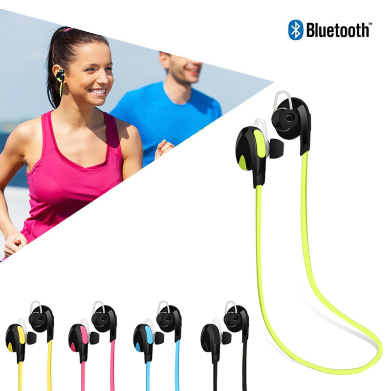 Headphones Auriculares Bluetooth Sport Handfree Stereo Blutooth 4.1 Wireless Earphones for iPhone 7 Plus HUAWEI Mate 9 C @JH